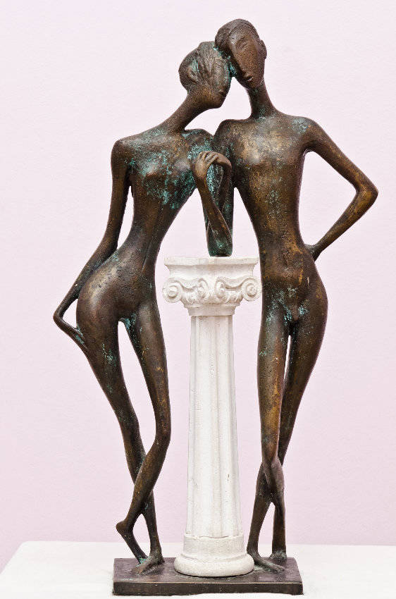 Tenderness 2002 year.bronze 60x35x15sm.12000 $