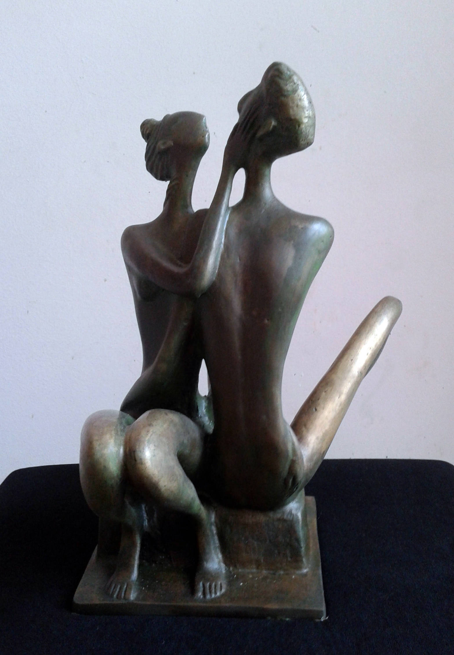 My Love Brass Unique Sculpture 2013 year 30x25x20 cm 9000$