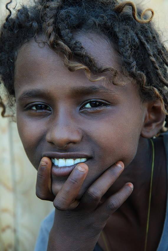 Девочка из племени Афар