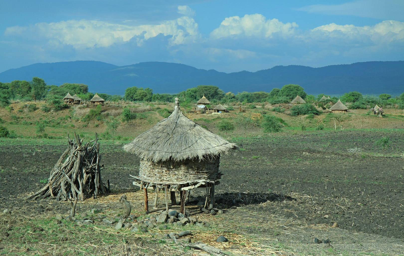 Эфиопия - страна невероятных пейзажей