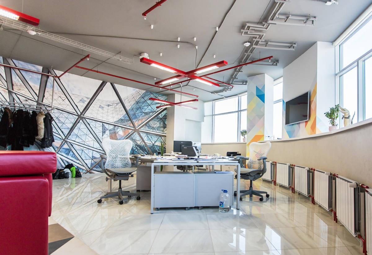 Офисное пространство БЦ Манхеттен