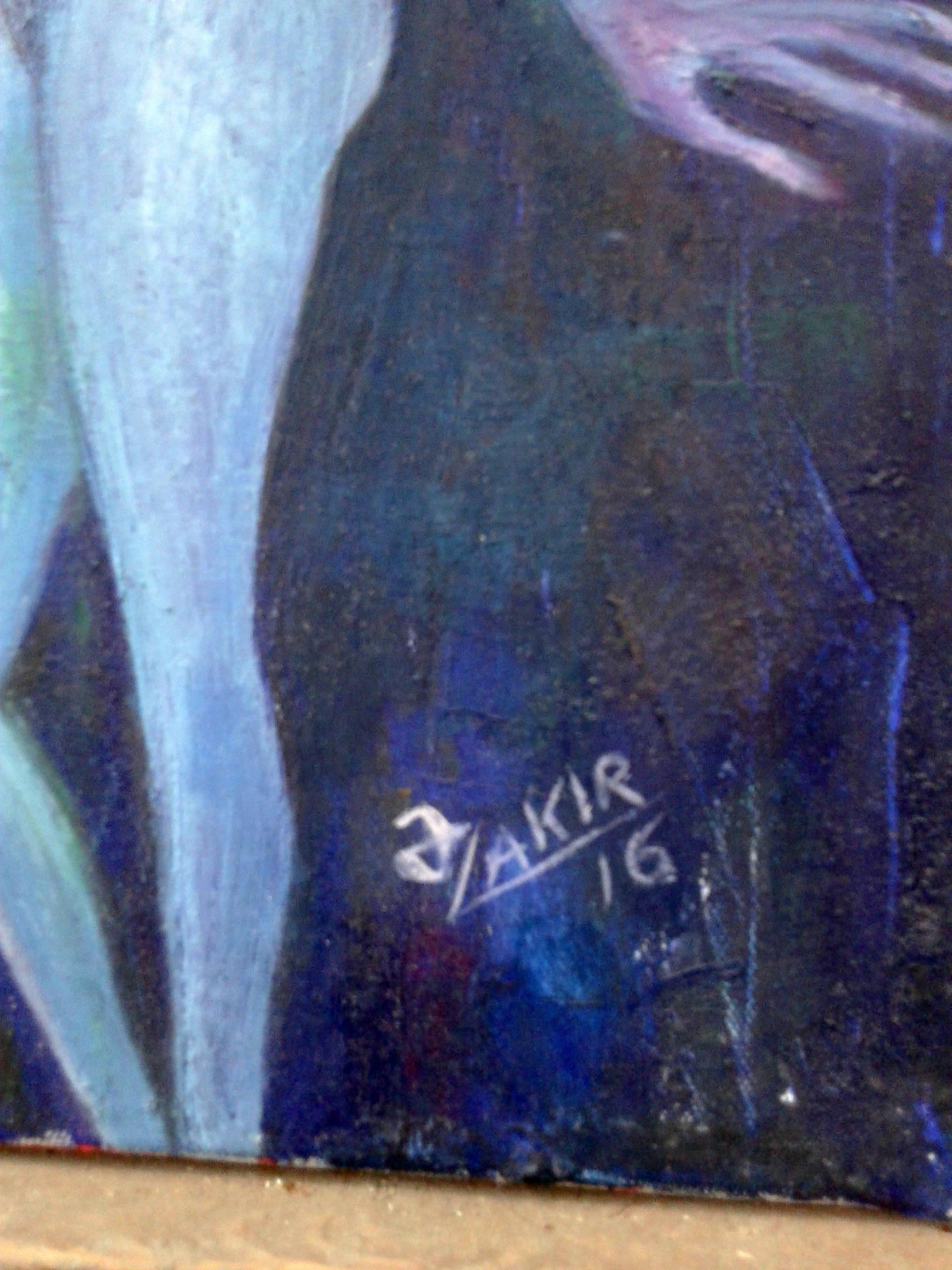 Moonlight Night 2016year60x50cm Original Painting Oil on Canvas 4000$