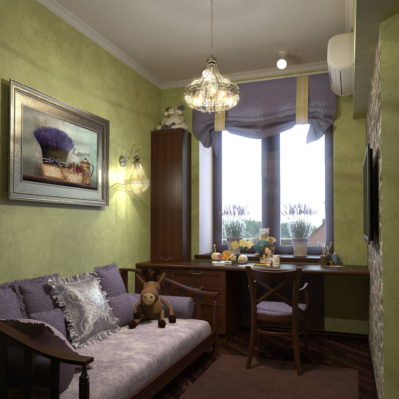 Apartment in style Taskan