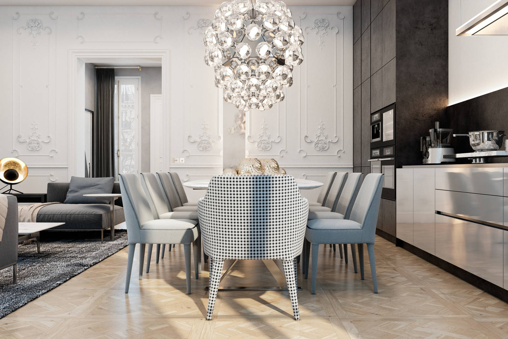 Exquisite flat in Paris.
