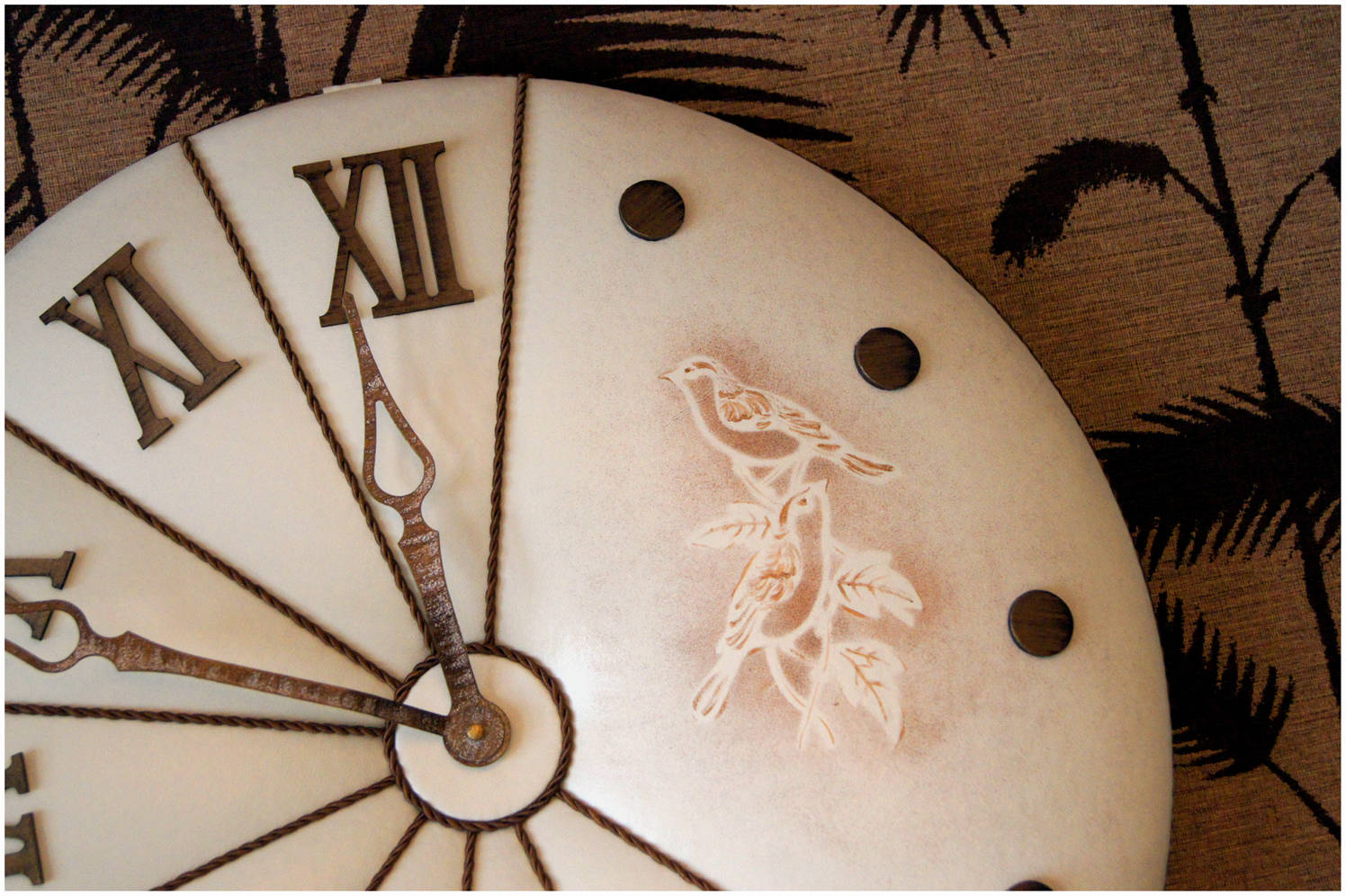 "Часы ""Флорентийские голуби"""
