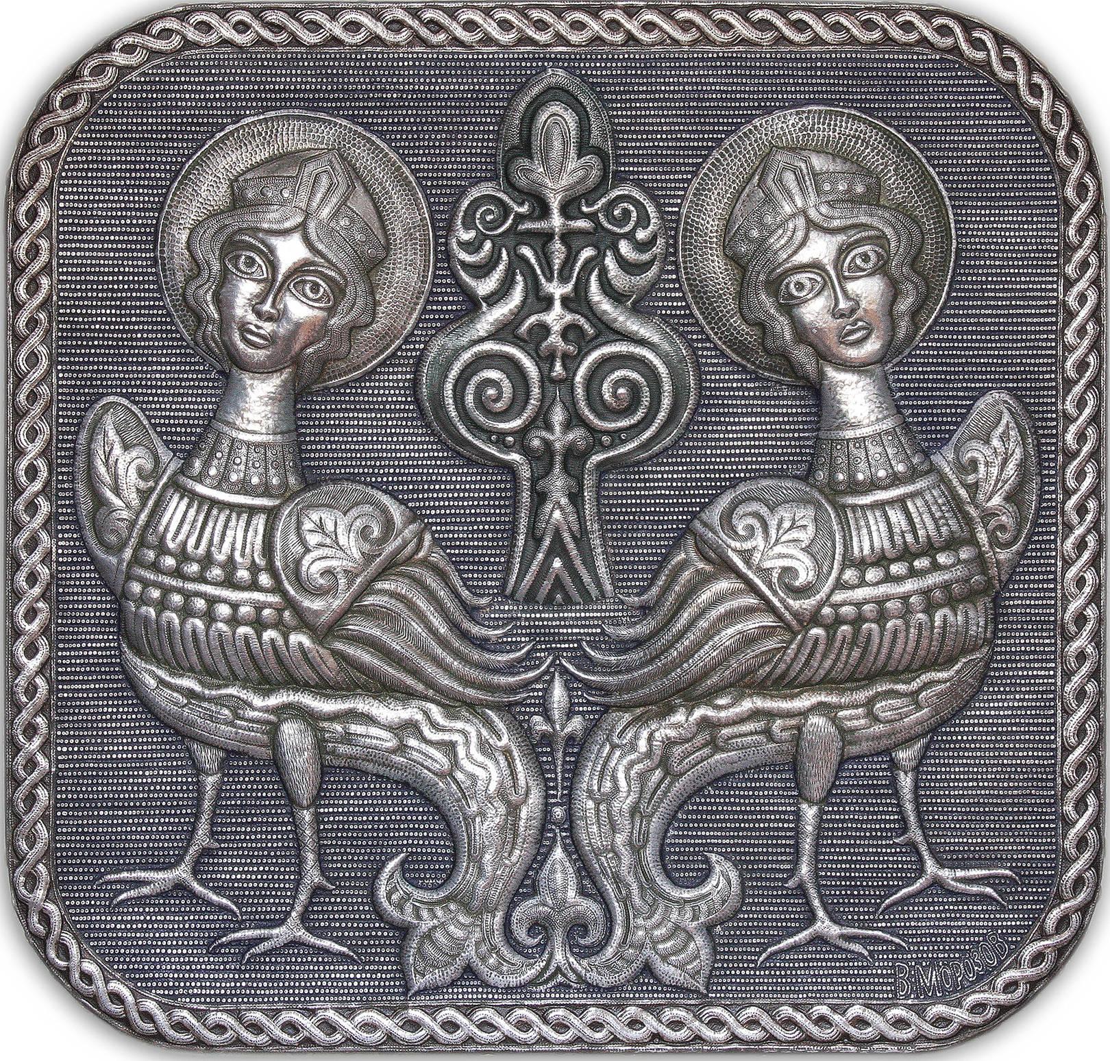 Чеканка. Русские древности