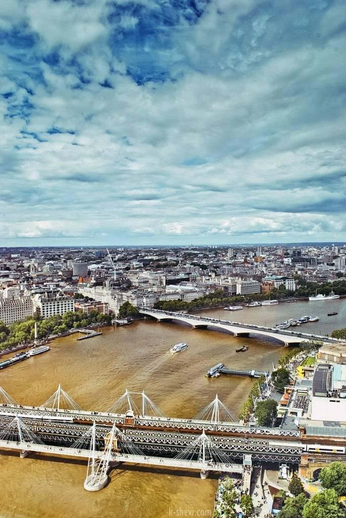 Лондон, Темза.