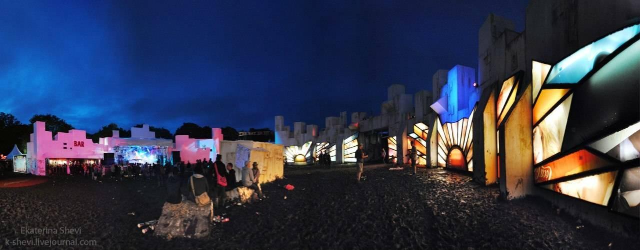 Фестиваль Гластонбери, Великобритания