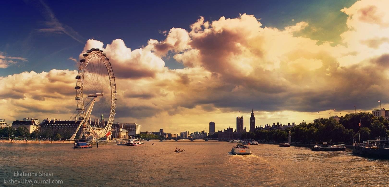 Панорамы из Москвы, Лондона, Стамбула и т.д.
