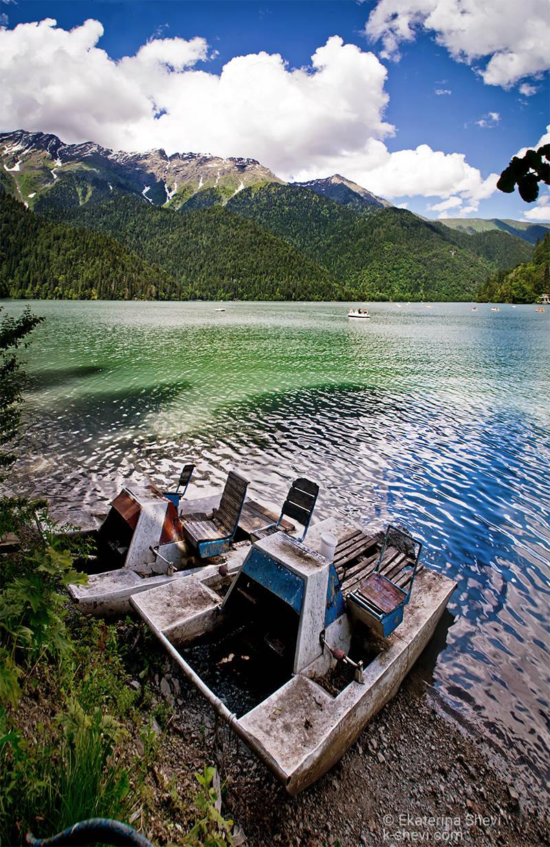 Озеро Рица, Абхазия