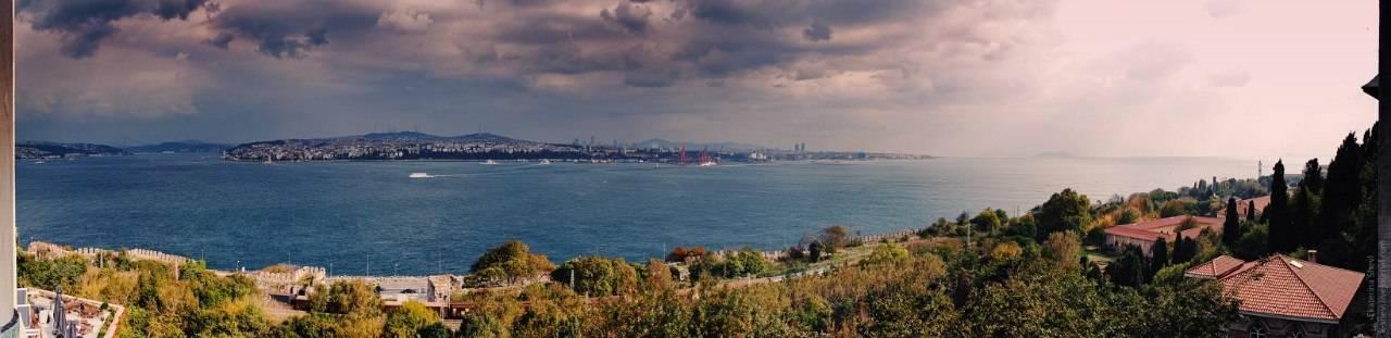 Стамбул, вид на Босфор