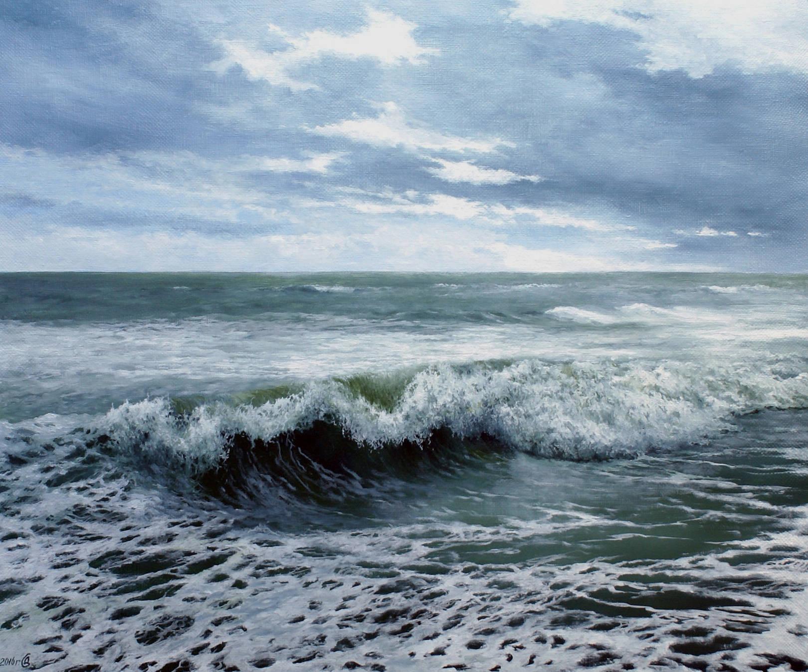 О море, море... - холст/масло, 50х60, 2016