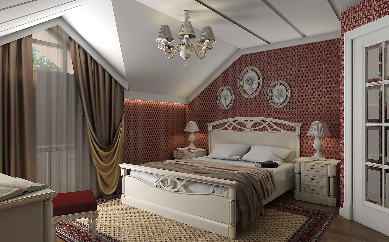 Спальни и бильярдная в мансарде