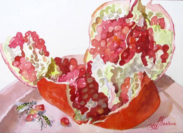 Гранат спелый