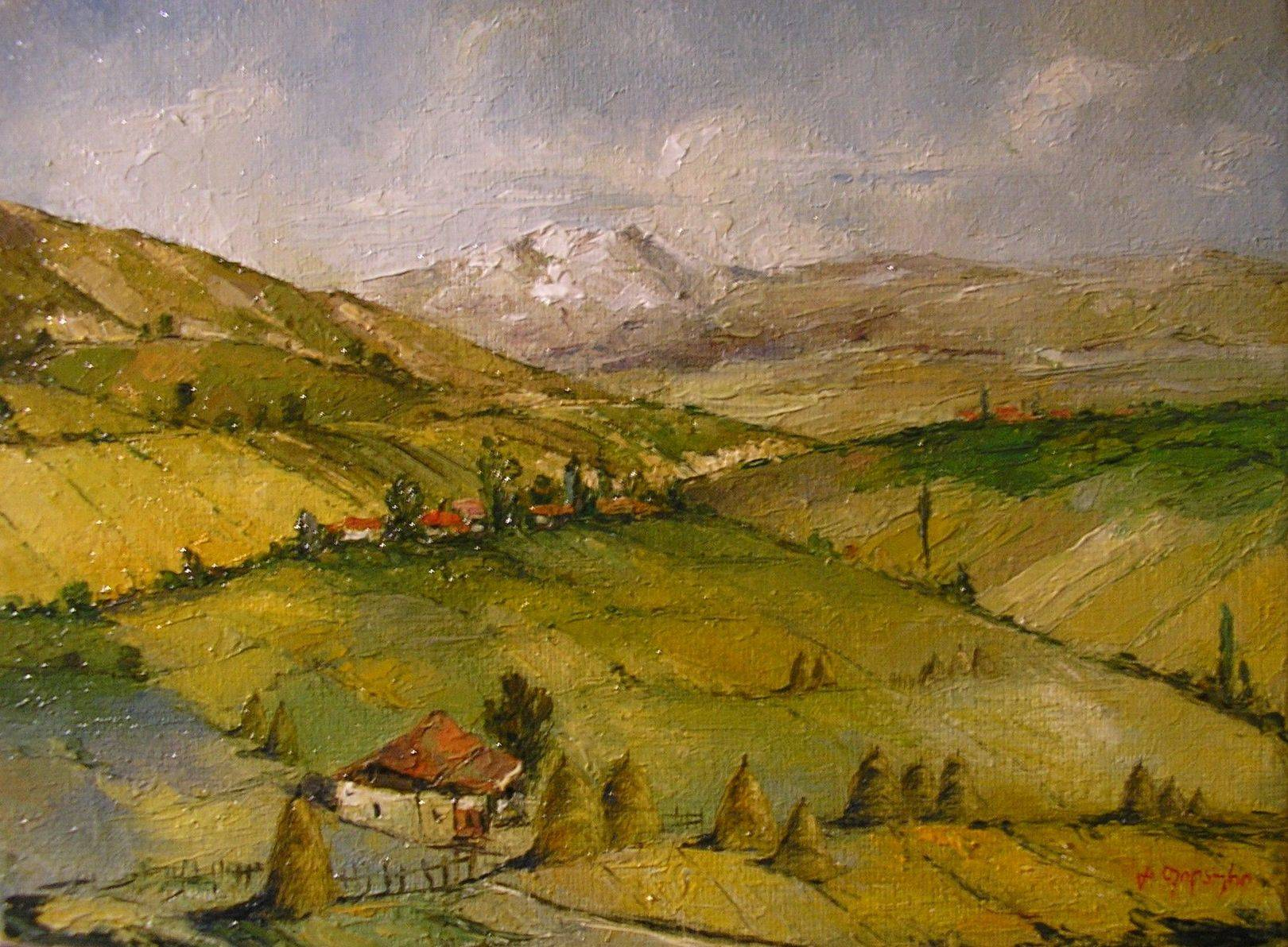 «Ахалкалаки»       холст, масло «Akhalkalaki»        oil on canvas 30x40, 2012
