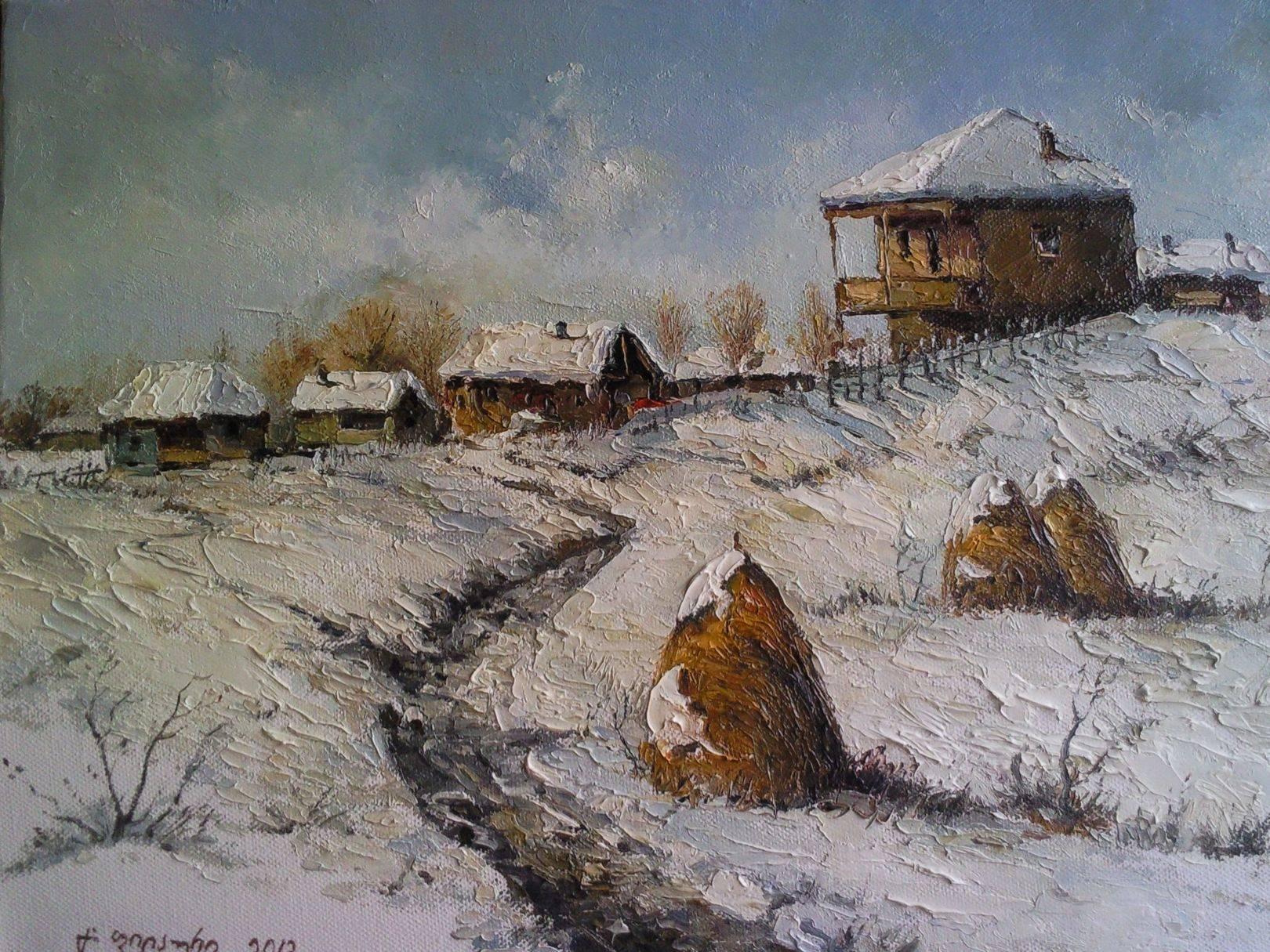 «Имерети»    холст, масло «Imereti»       oil on canvas 30x40, 2012