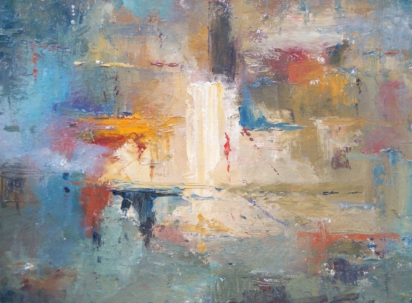 «Жаркий день»    холст, масло «Hot day»             oil on canvas 24x30, 2010