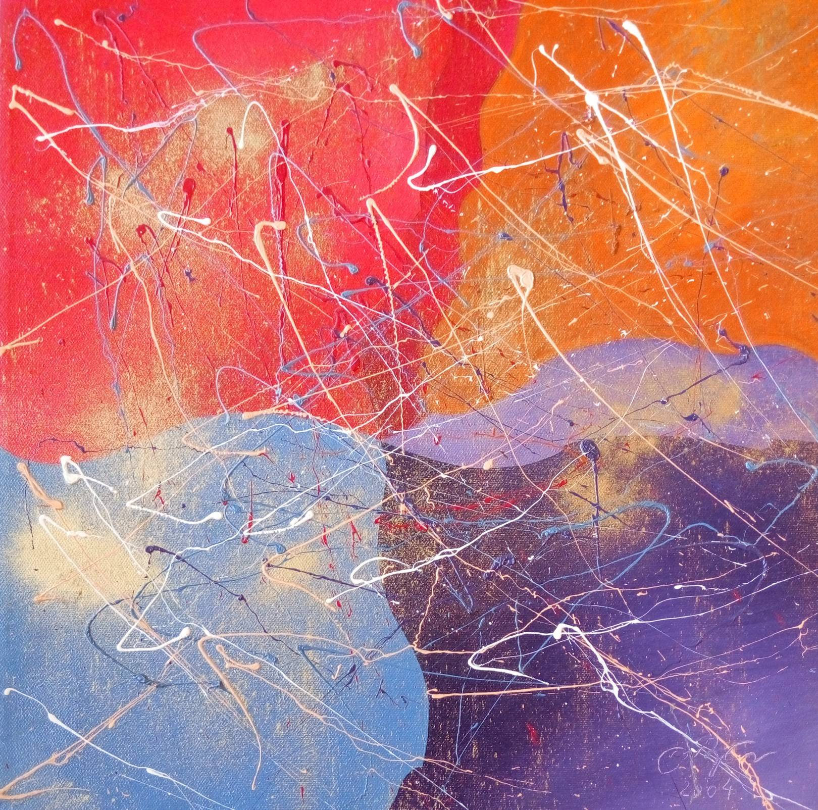 «В ожидании лета»                     холст, масло «Waiting for summer»                 oil on canvas                                               40x40,  2003