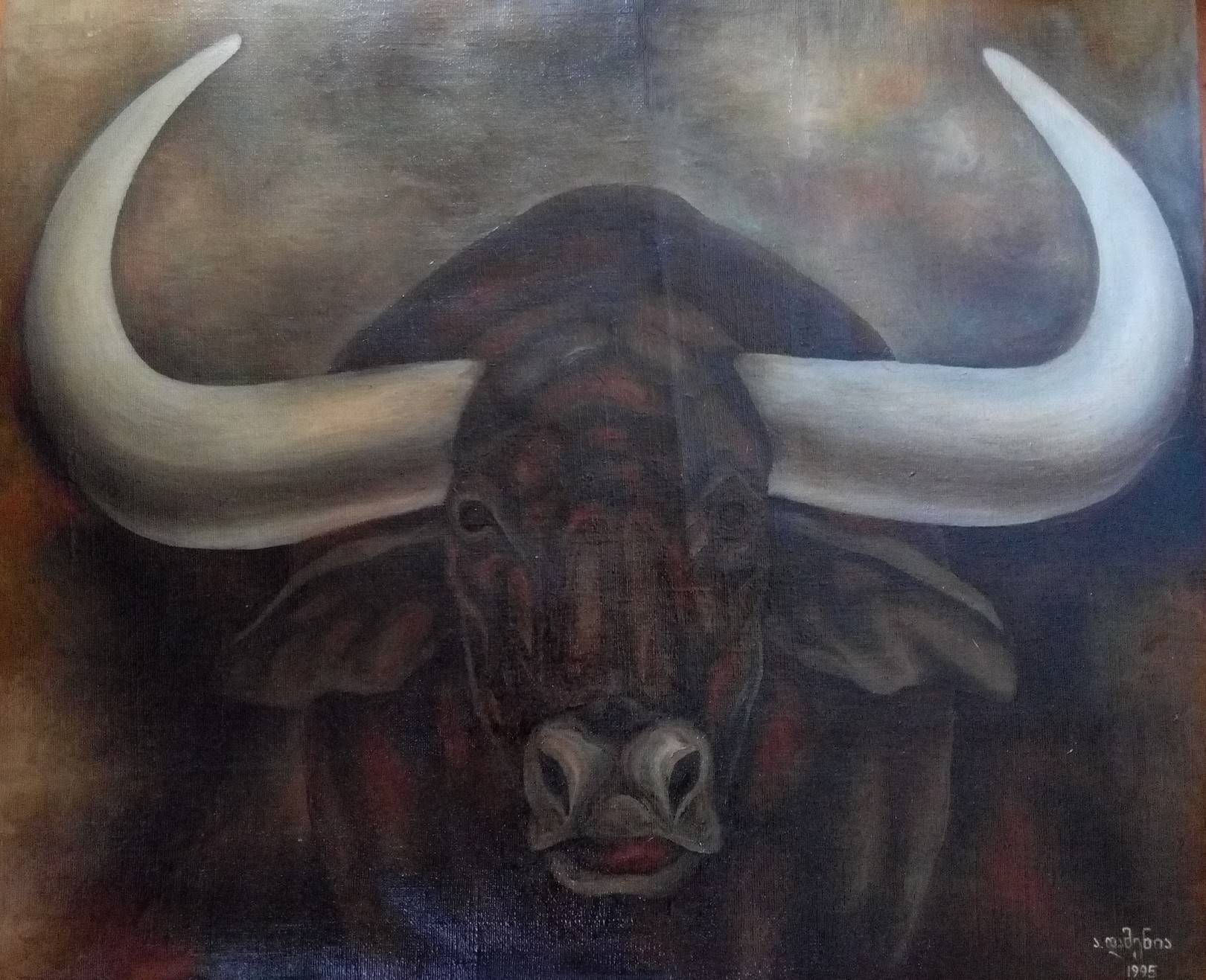 «Бык»              холст, масло