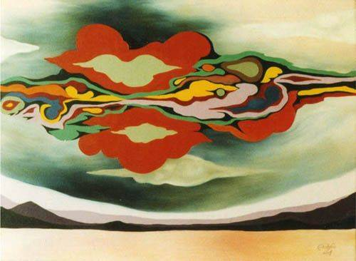 «Облако»           холст, масло