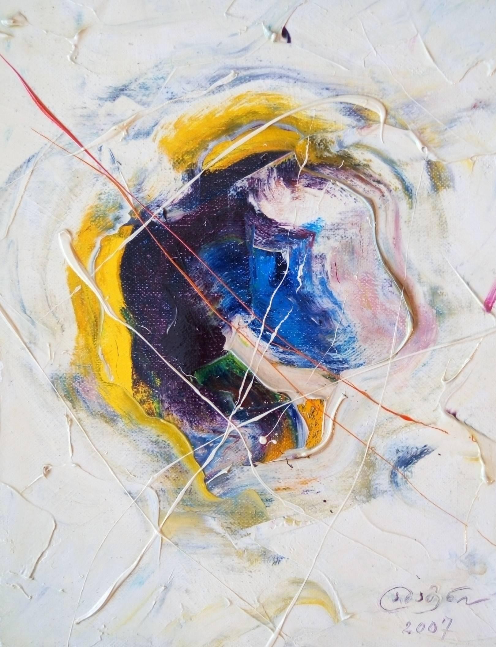 «Единорог»             холст, масло «Monoceros»            oil on canvas                                                 30x24,  2007