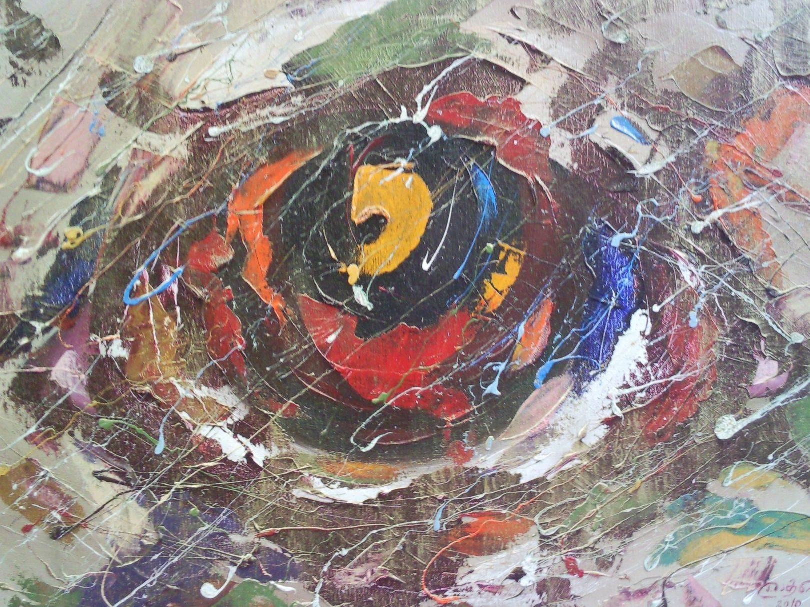 «Око»             холст, масло