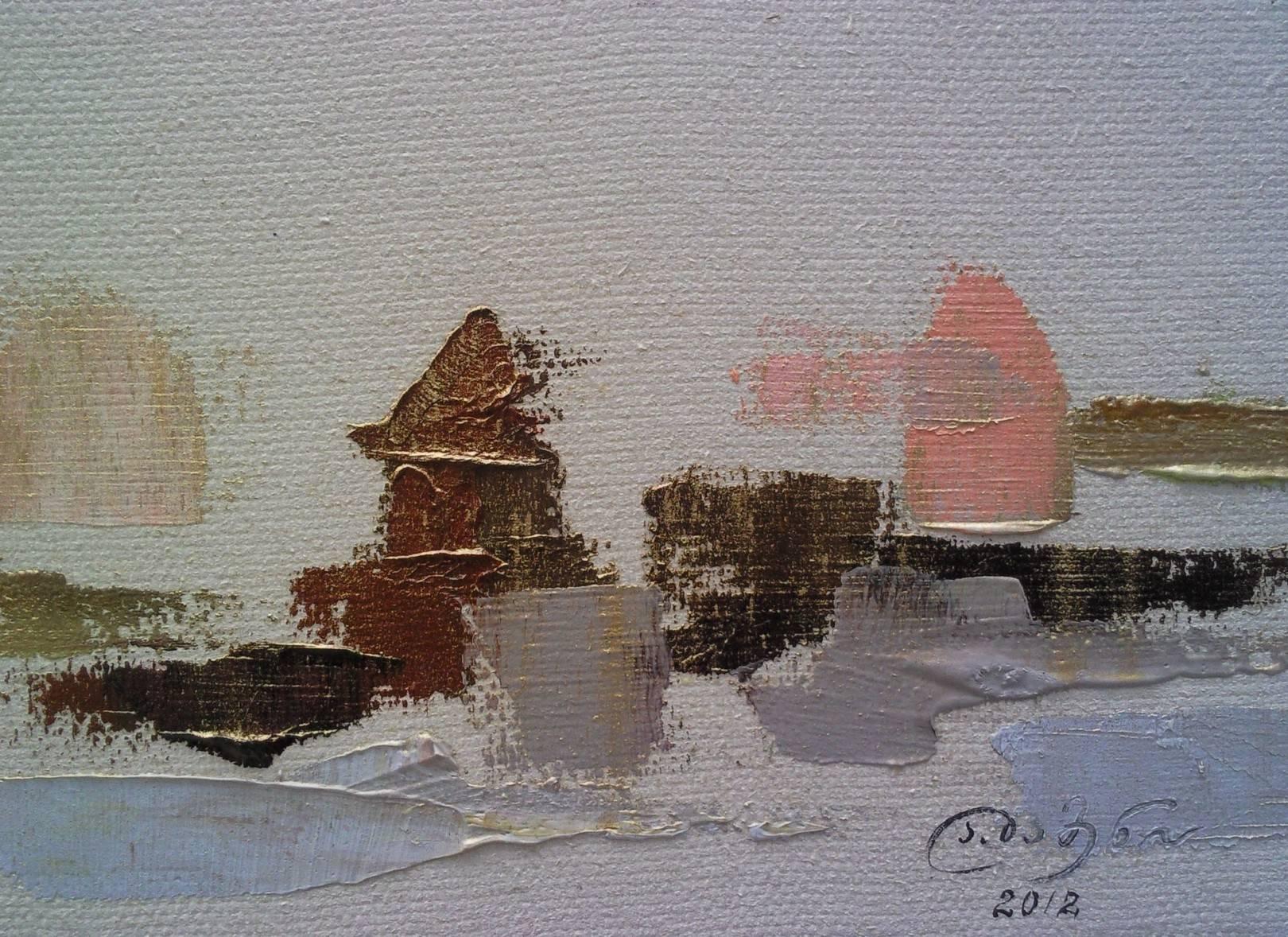 «Вид Тбилиси»   холст, масло «Tbilisi»               oil on canvas                                              20x30,  2012