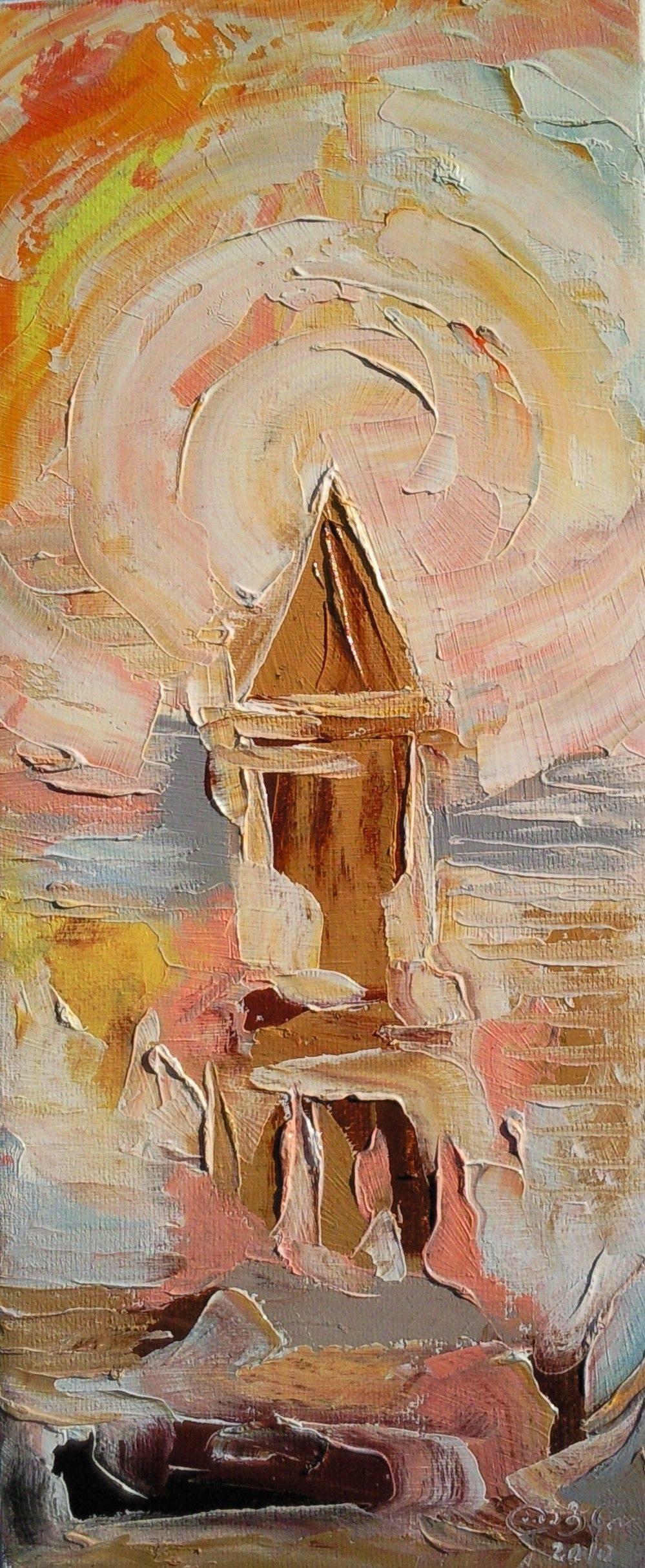 «Церковь»       холст, масло «Church»         oil on canvas                                                70x30,  2012