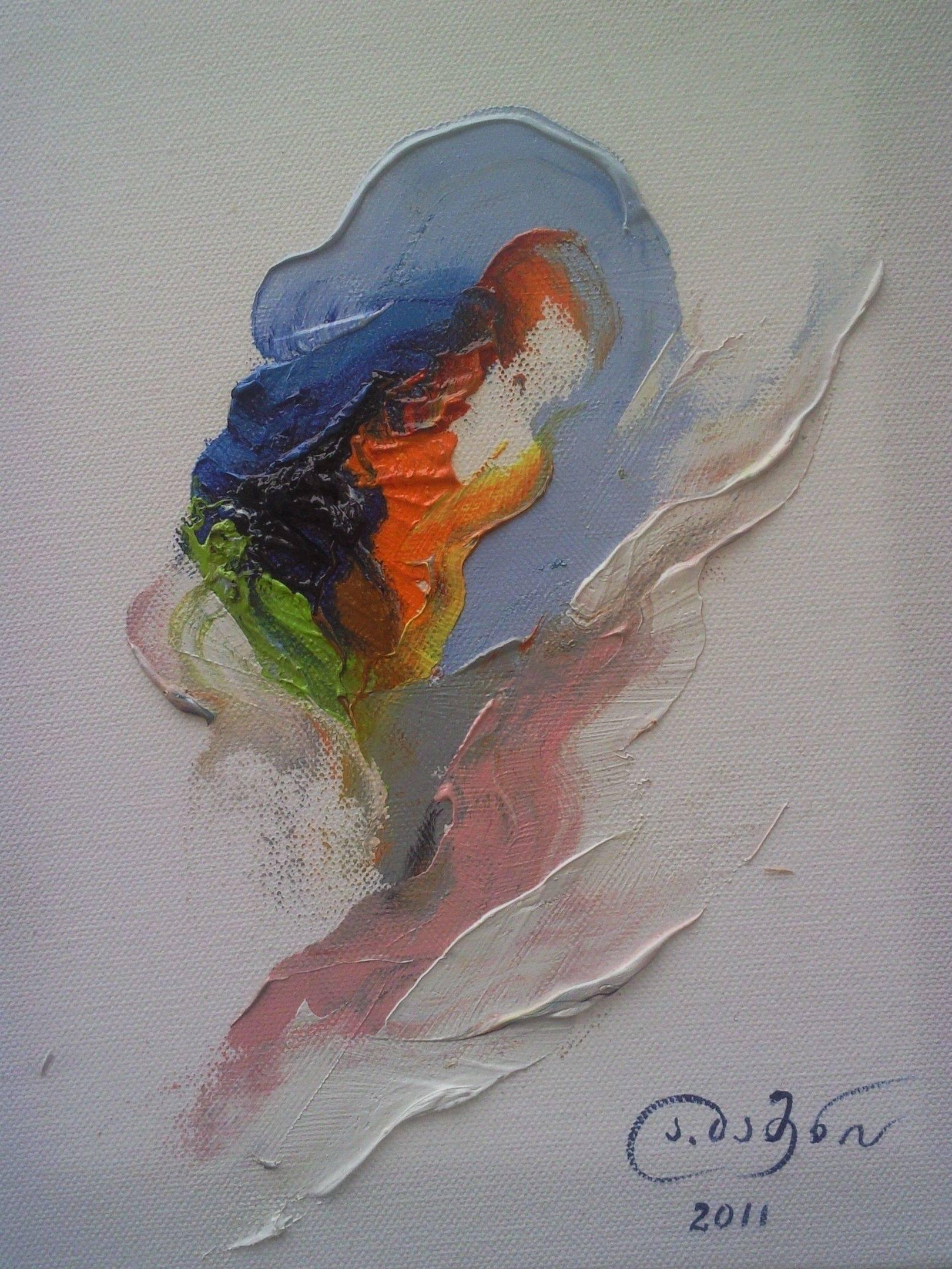 «Пробуждение»      холст, масло «Awakening»            oil on canvas                                                      30x24, 2011
