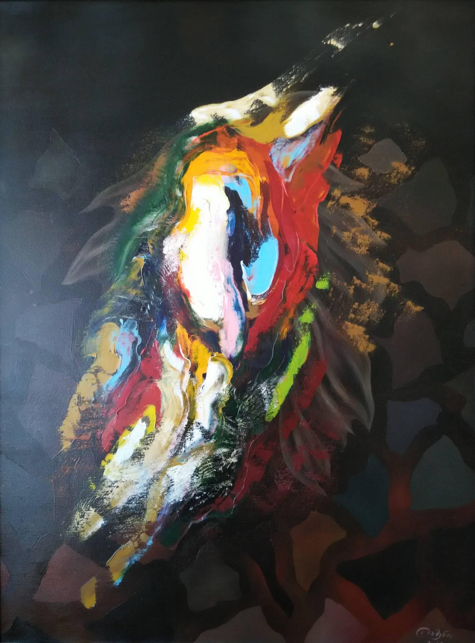 «Похищение Европы»        холст, масло «Stealing of Europe»            oil on canvas                                                      100x80,  2013