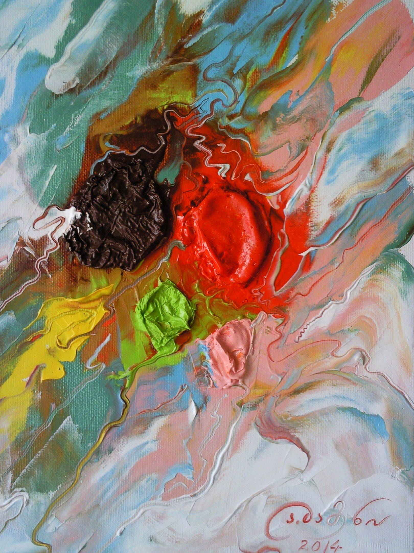«Летний ветер»              холст, масло «Summer wind»              oil on canvas  30x24, 2014