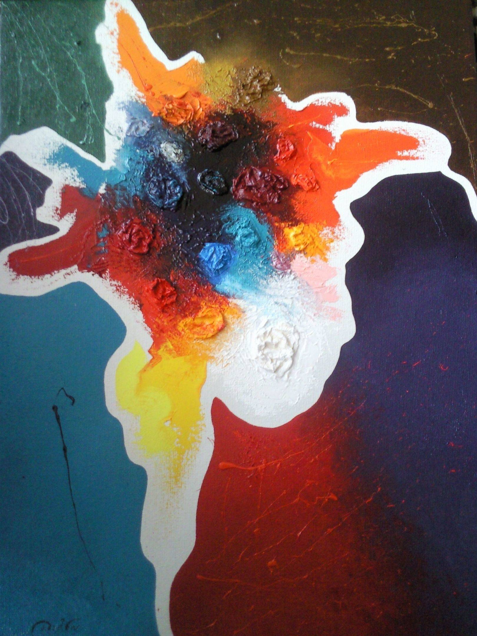 «Королевский шут»   холст, масло «King's Fool»              oil on canvas                                                  80x60,  2014