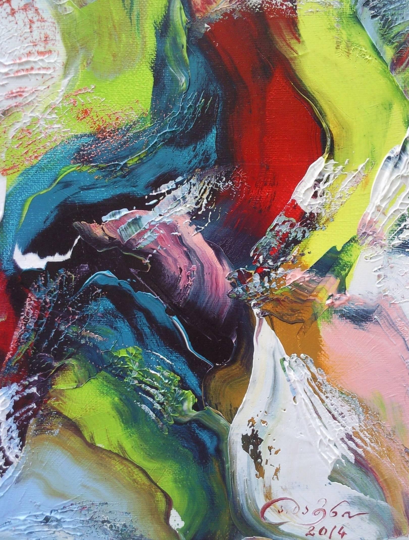 «Восточный танец»              холст, масло «Oriental dance»                    oil on canvas                                                  30x24, 2014