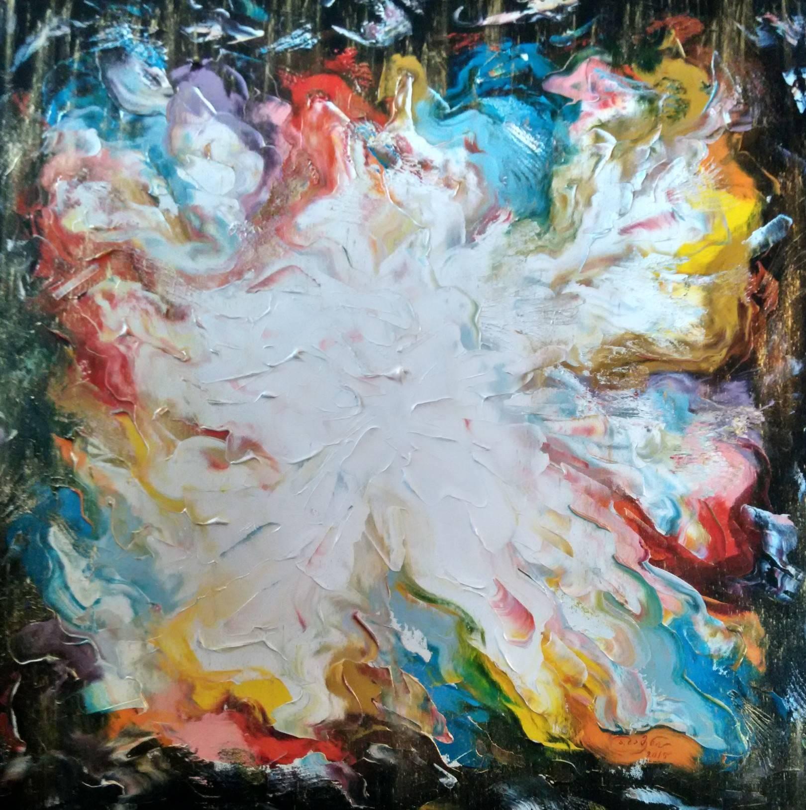 «Танец»          холст, масло «Dance»          oil on canvas                                                  80x80,  2015