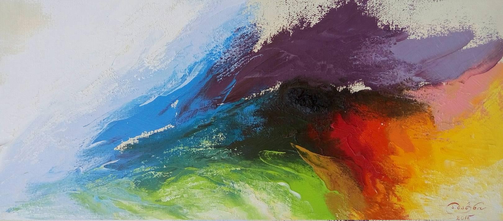 «Картли»                      холст, масло «Kartli»                         oil on canvas  30x70, 2015