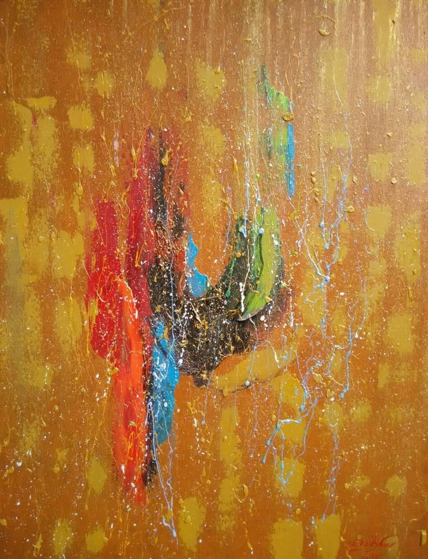 «Экзистенция»   холст, масло «Existence»        oil on canvas                                                  80x60,  2015