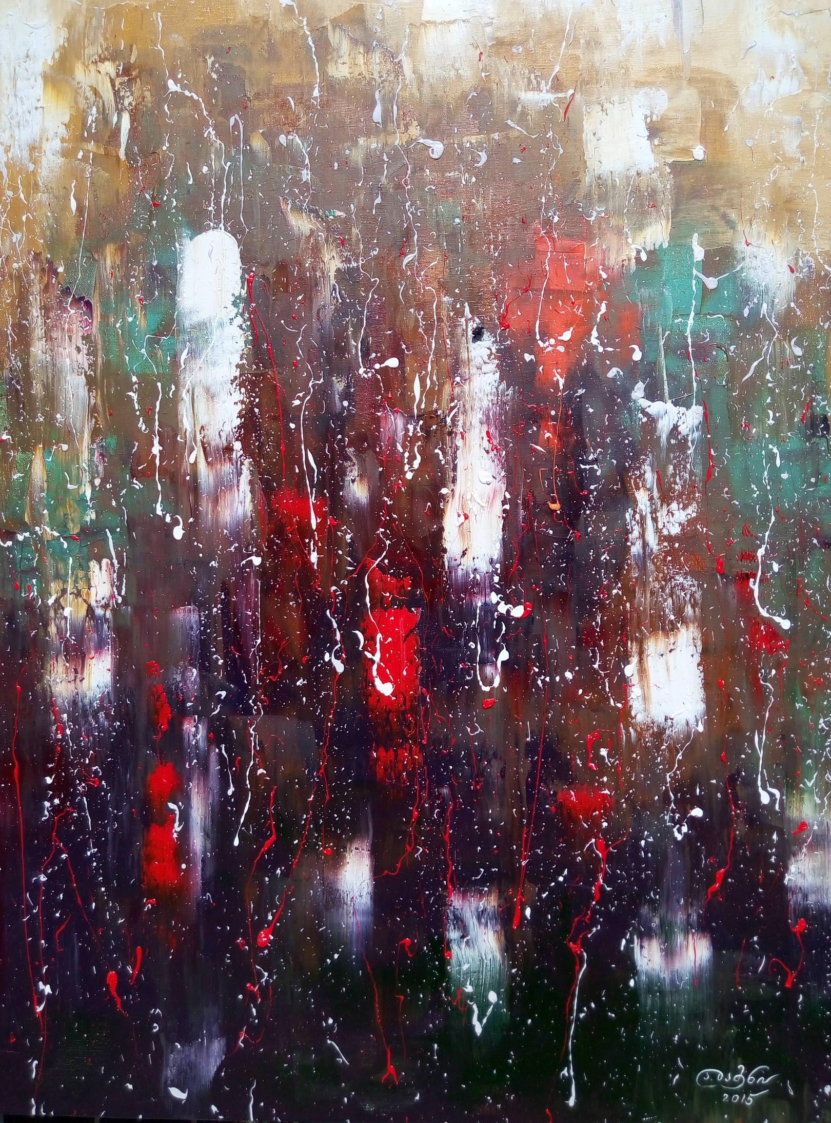 «Осенняя меланхолия»                     холст, масло «Autumn melancholy»                         oil on canvas                                                  90x70,  2015