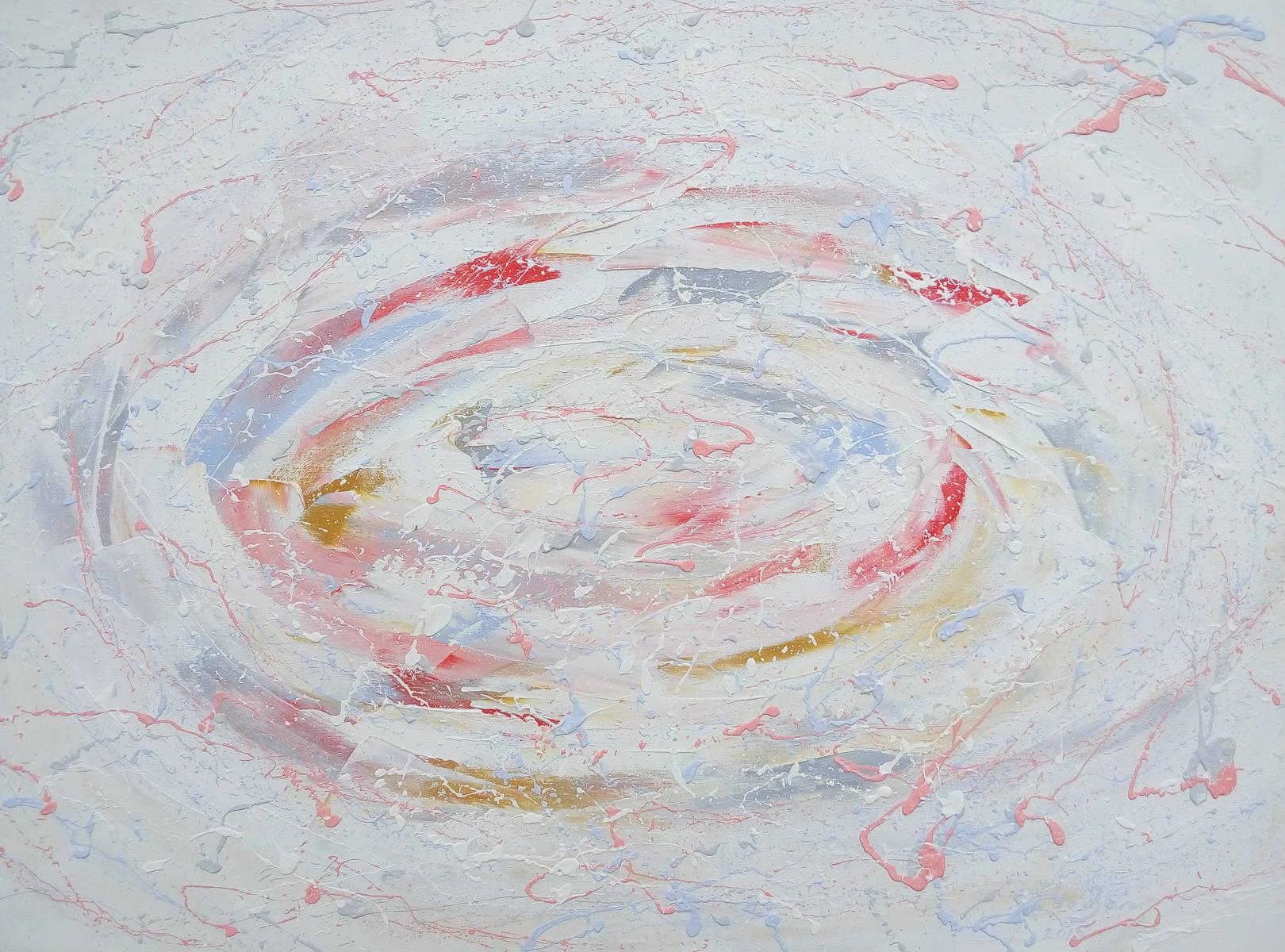 «Белая бесконечность»        холст, масло «White infinity»                       oil on canvas                                                  60x80,  2015