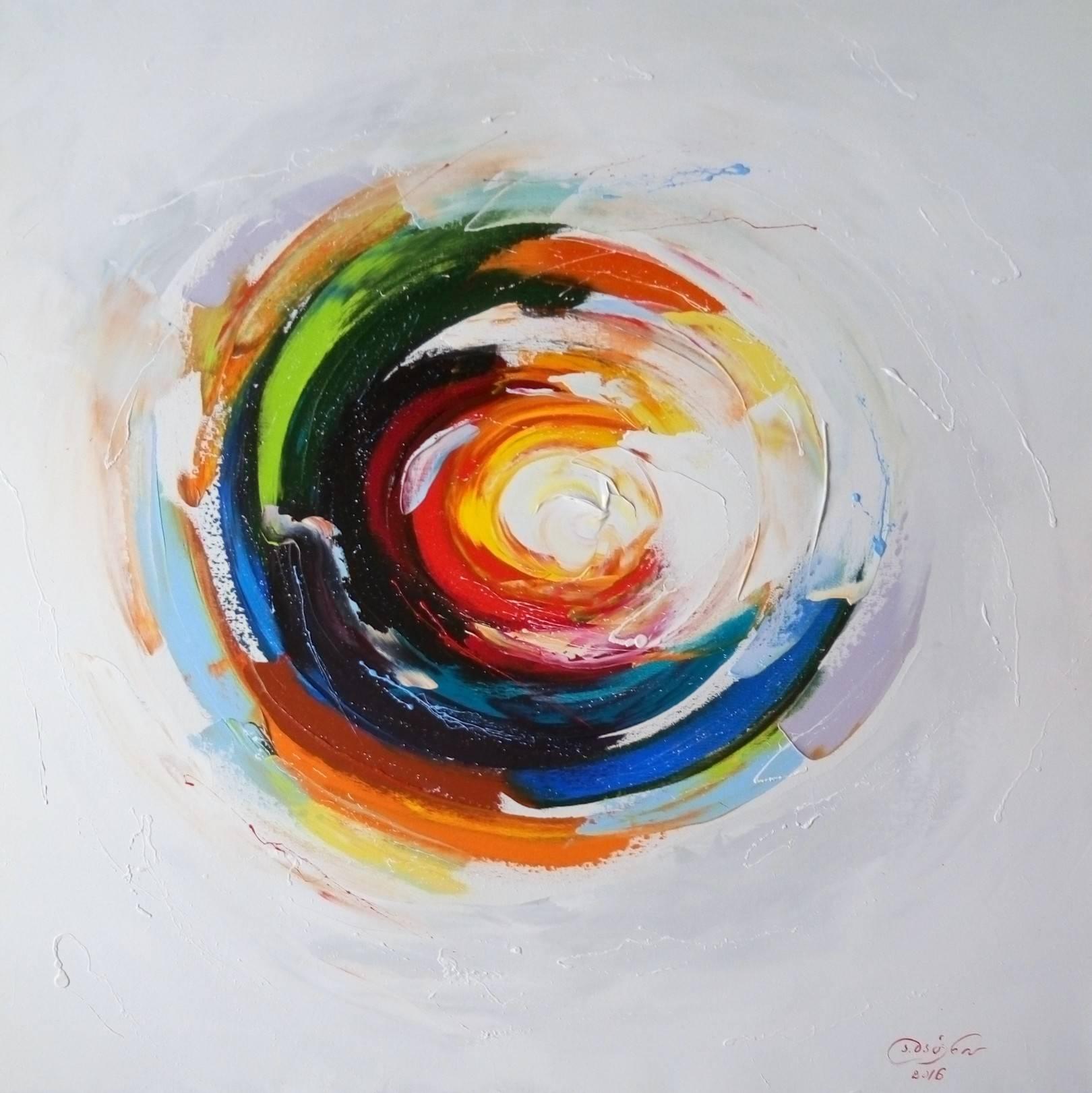 «Исток жизни»     холст, масло «Source of life»    oil on canvas                                                      80x80,  2016