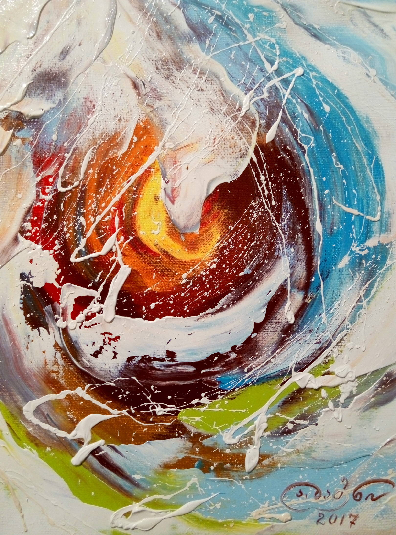 «Моление»    холст, масло «Praying»       oil on canvas 30x24, 2017
