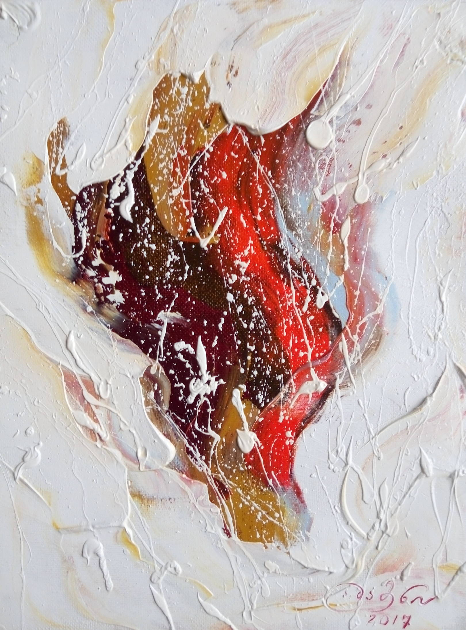 «Пророк Моисей»    холст, масло «Prophet Moses»     oil on canvas 30x24, 2017