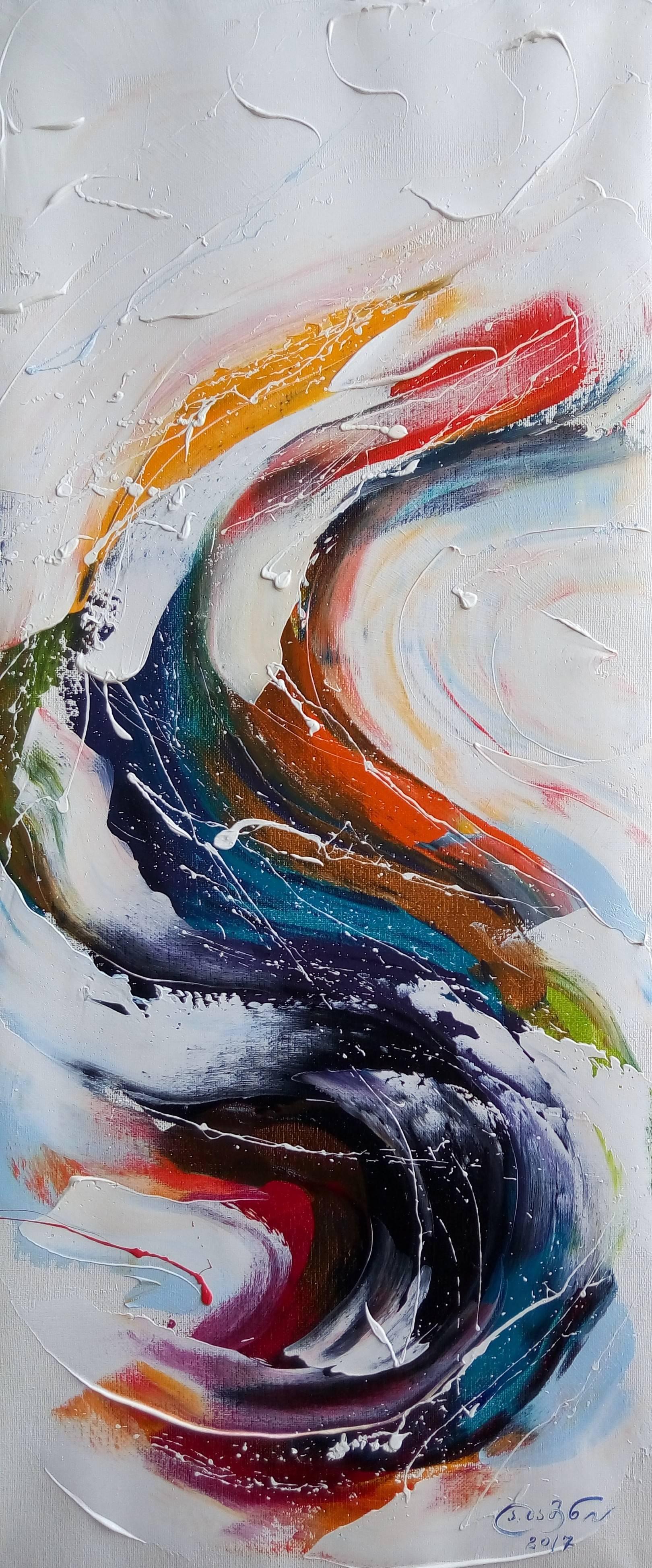 «Преображение»      холст, масло «Transformation»       oil on canvas   70x30, 2017