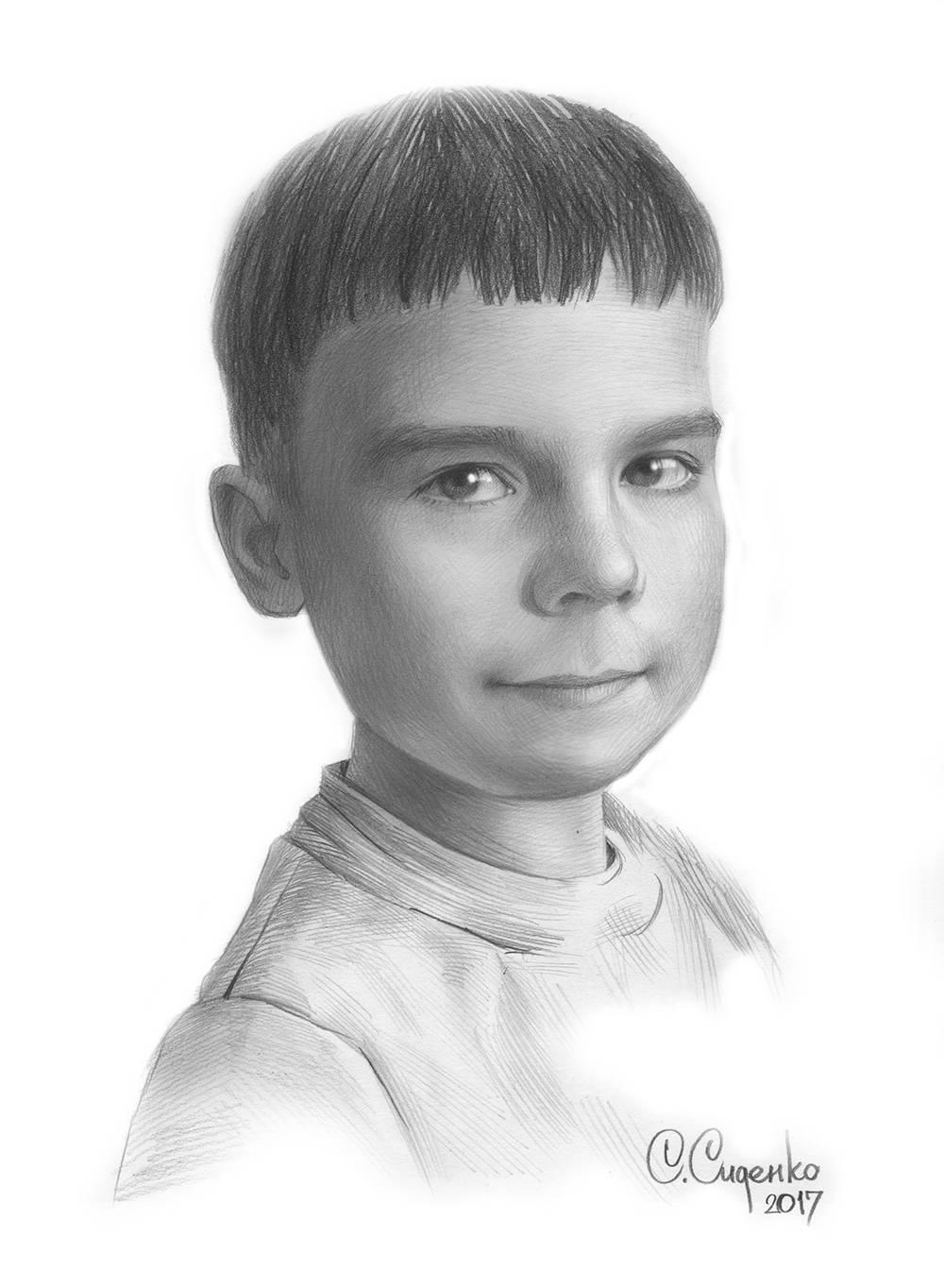 Детский портрет 3