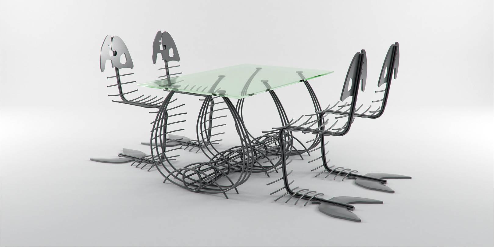 Рыбный стул Piscis spina