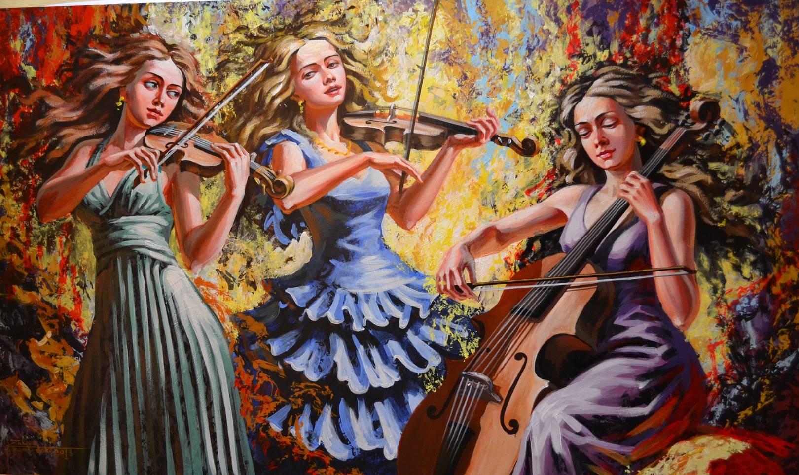 музыка в живописи