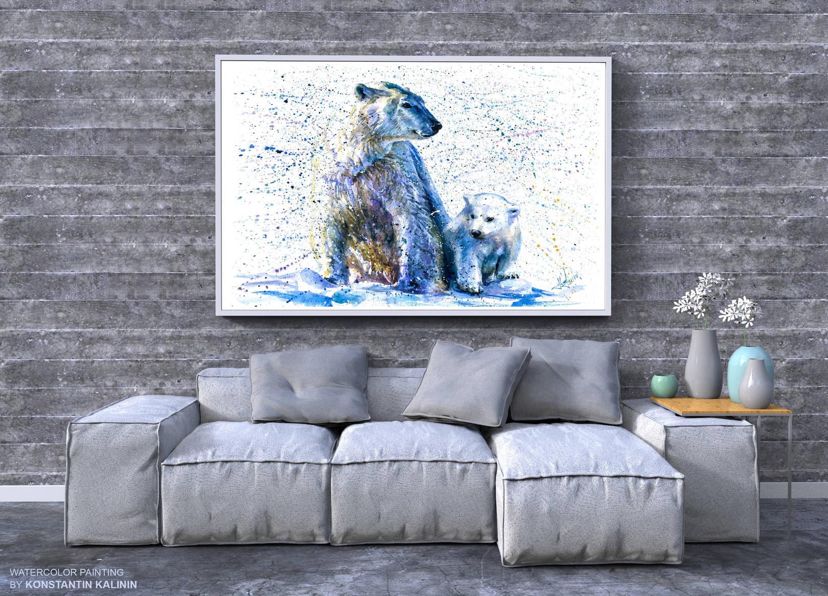Белый медведь - Polar bear