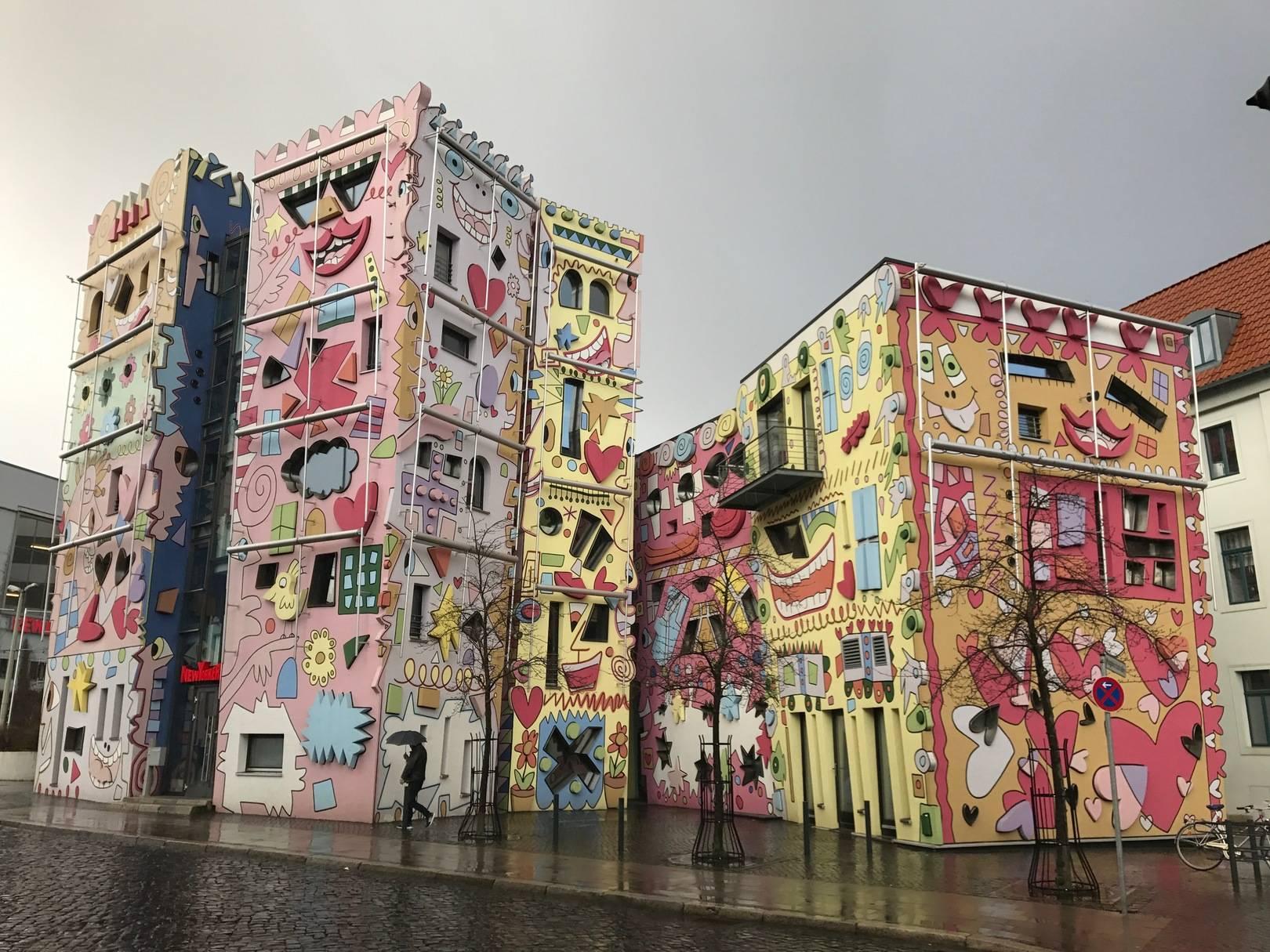 Это в Германии, самые расписные дома в мире