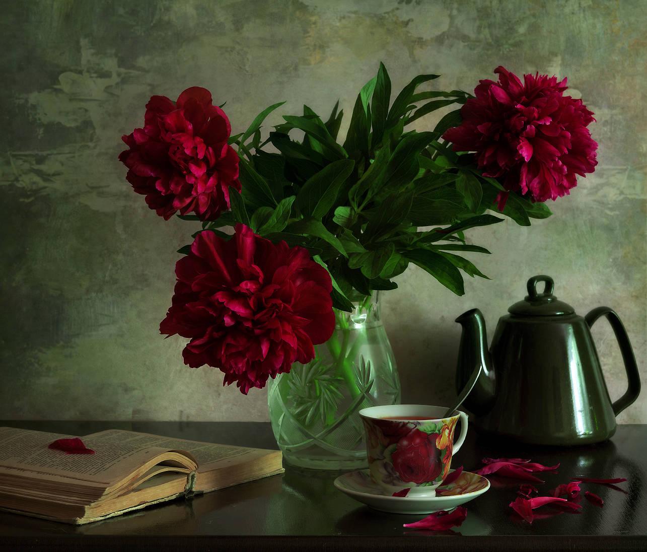 Пионовый чай