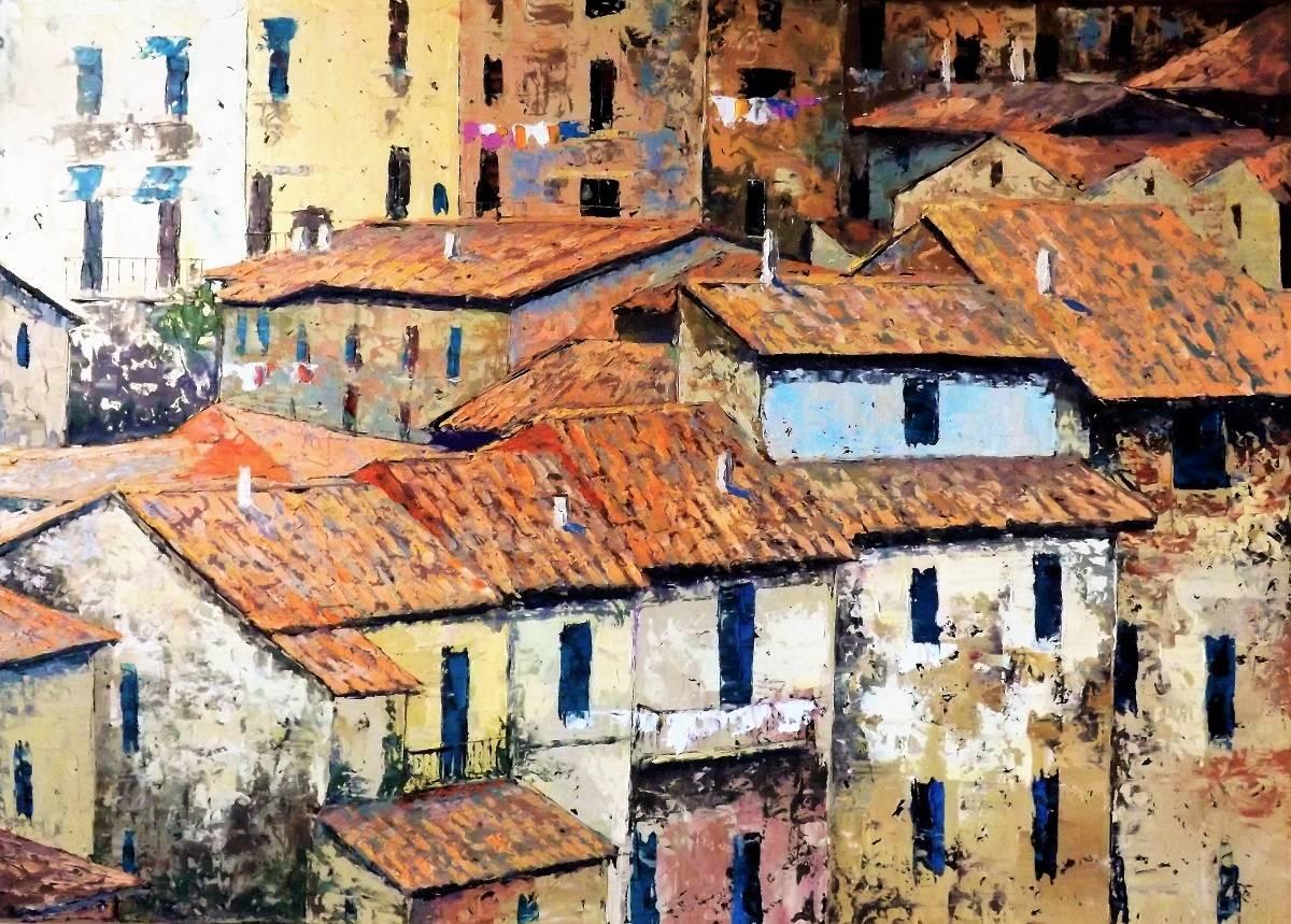 Крыши Тосканы.к.м.60х80.