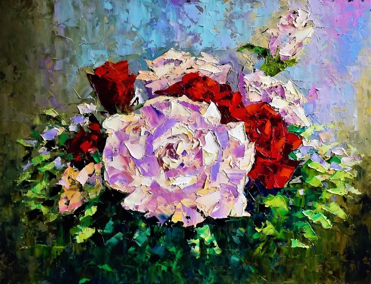 Розы.к.м.49х63.